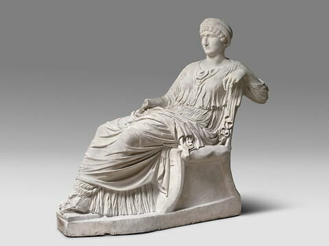 """moulage ; statue ; """"Hélène"""" ou """"Poppée"""" ou """"Agrippine"""""""