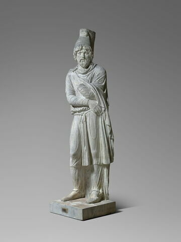 "moulage ; statue ; ""Prisonnier barbare"" ou ""Tigrane roi d'Arménie"""