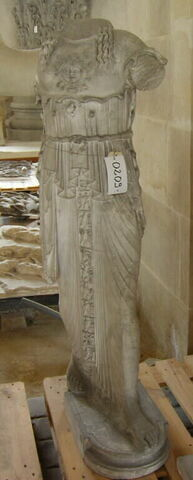 """moulage ; statue ; """"Athéna archaïsante de Dresde"""""""