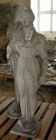 """moulage ; statue ; """"Athéna de Poitiers"""""""