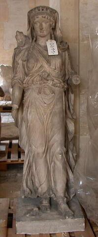 moulage ; statue ; Artémis Braschi