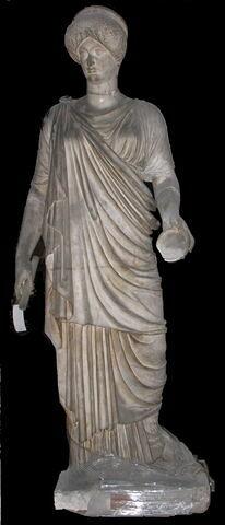 moulage ; statue ; Julia du Braccio Nuovo