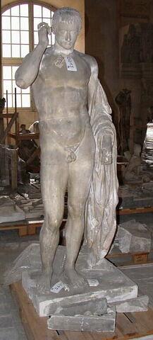 moulage ; statue ; Germanicus ou Marcellus en Hermès