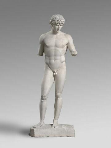 moulage ; statue ; Antinoüs de Delphes