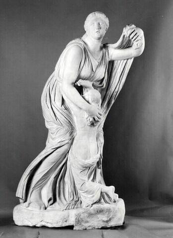 moulage ; groupe statuaire