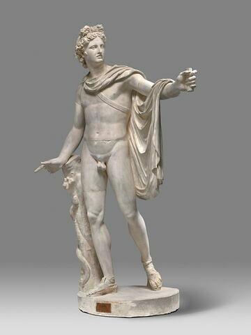 moulage ; statue ; Apollon du Belvedere