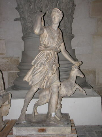 statue ; Tirage de la Diane de Versailles