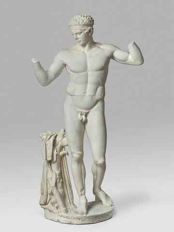 """moulage ; statue ; """"Diadumène de Délos""""."""