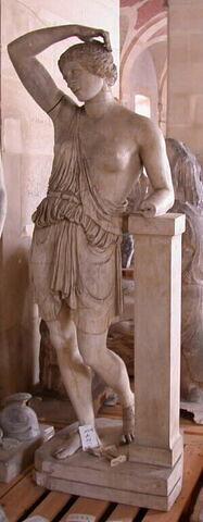 """moulage ; statue ; Amazone du type """"Sciarra"""""""