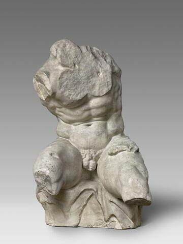 moulage ; statue  ; torse du Belvedere