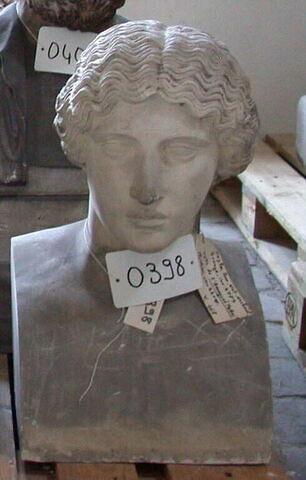 moulage ; statue en buste ; amazone Mattei