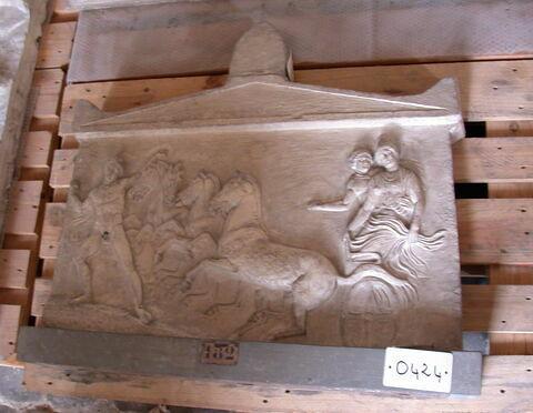 moulage ; relief ; Relief dit d'Hermès et des Nymphes