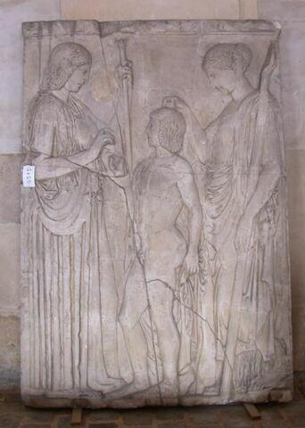 "moulage ; relief ; Relief dit ""d'Eleusis"""