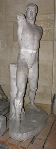 moulage ; statue ; Statue d'Harmodios (acéphale) du groupe des Tyrannoctones.