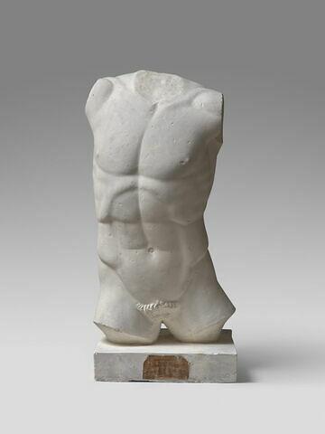 moulage ; statue  ; Torse d'Harmodios du groupe des Tyrannoctones.