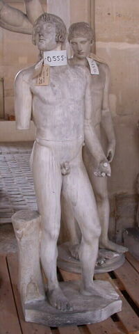 moulage ; statue ; éros Soranzo