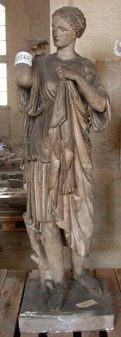 statue ; Tirage de Diane de Gabies