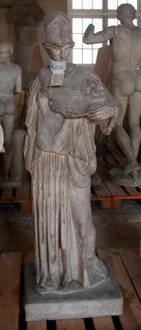 moulage ; statue ; Athena à la ciste