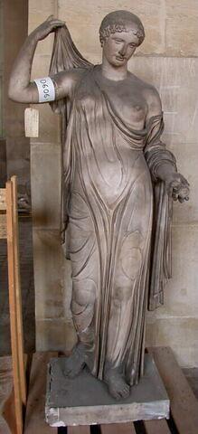 statue ; Tirage de Vénus Génitrix ou Aphrodite Naples Fréjus