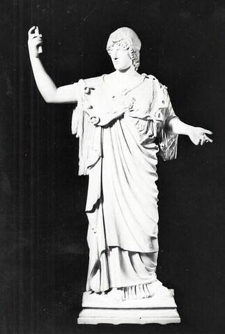 "moulage ; statue ; Athena Albani ou Minerve Albani"", dite aussi ""Athéna à la cunei""."