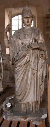 moulage ; statue ; Athena Giustiani