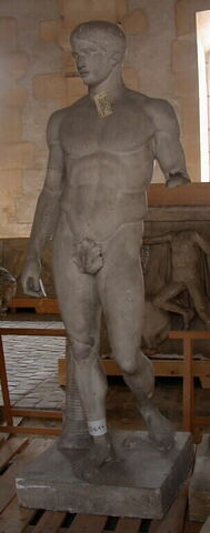 moulage ; statue ; Doryphore de Polyclète