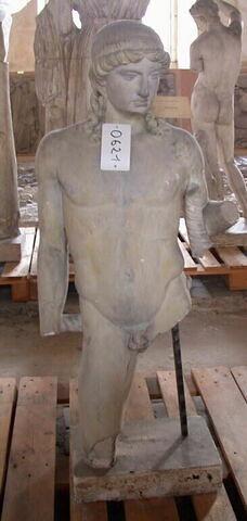 statue  ; Tirage d'un Apollon lyricine
