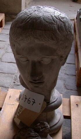 moulage ; statue  ; Tête du Doryphore de Polyclète