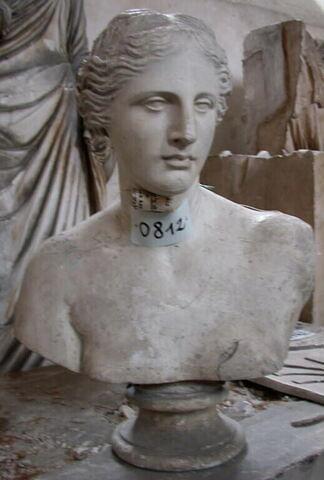 moulage ; statue en buste ; Buste de la Vénus de Milo