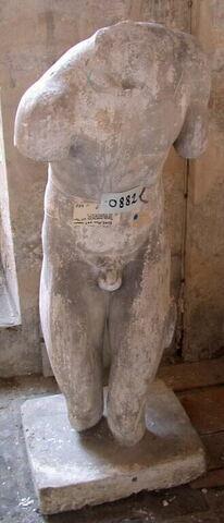 moulage ; statue  ; torse Valentini