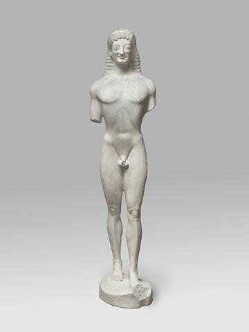 moulage ; statue ; Kouros (ou couros) de Ténée ou Ténéa