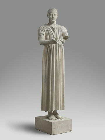 moulage ; statue ; Aurige de Delphes