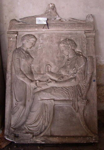 moulage ; stèle ; stèle d'Hégésô