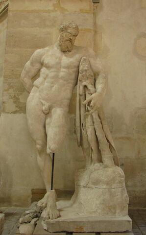 statue ; Hercule Farnèse