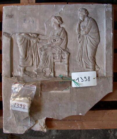 moulage ; stèle  ; Stèle de Diphilos