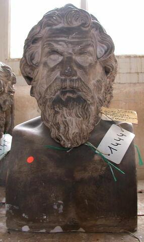 moulage ; statue en buste