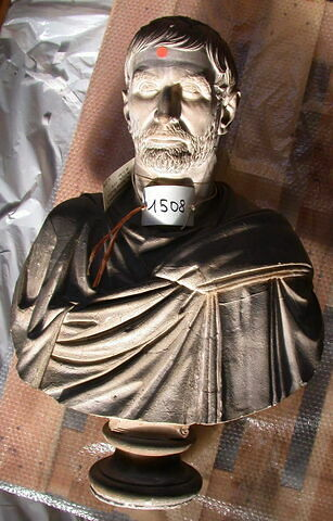 moulage ; statue en buste ; Brutus Capitolin