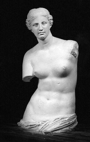 moulage ; statue ; torse ; Torse de la Vénus de Milo