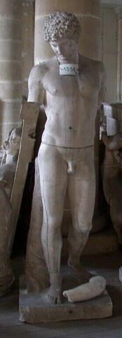 moulage ; statue ; Antinoüs Albani ou Antinoüs du Capitole