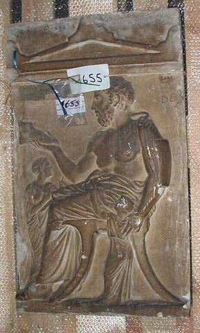 moulage ; stèle ; Stèle de Xanthippos