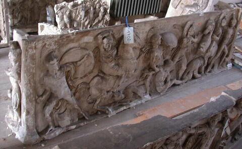 moulage ; sarcophage  ; Sarcophage de Vienne
