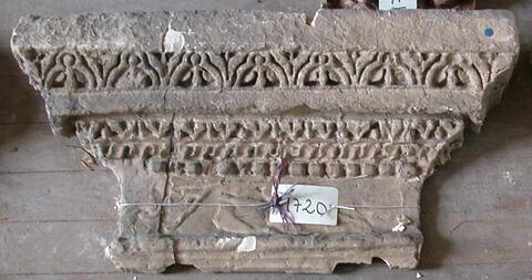 moulage ; chapiteau de pilastre