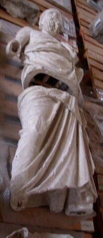 moulage ; statue ; Le Philosophe