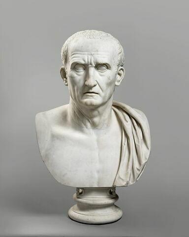 statue en buste ; Mécène