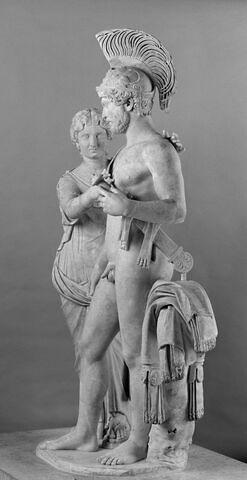 profil gauche © 2008 Musée du Louvre / Anne Chauvet