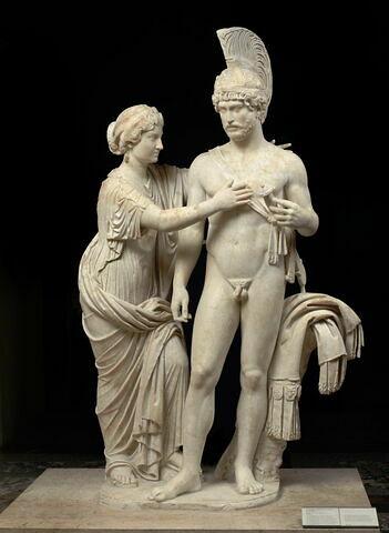 groupe statuaire ; Groupe impérial en Mars et Vénus