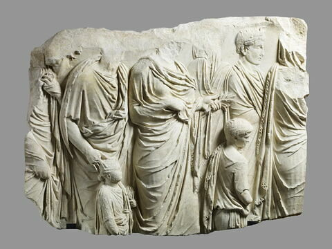 relief architectural  ; Ara Pacis