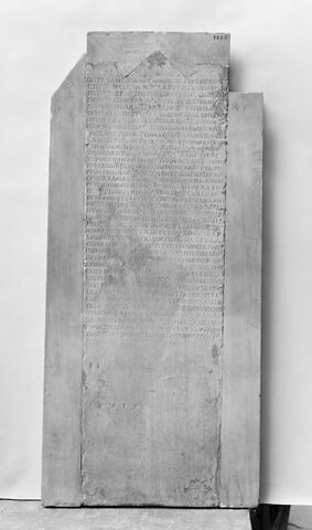 stèle ; inscription ; inscription Triopeenne