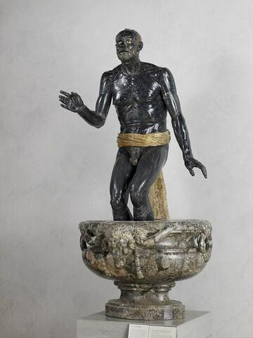 statue ; Sénèque mourant