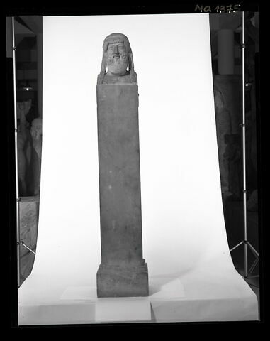 face A, face 1 © 1998 Musée du Louvre / Patrick Lebaube